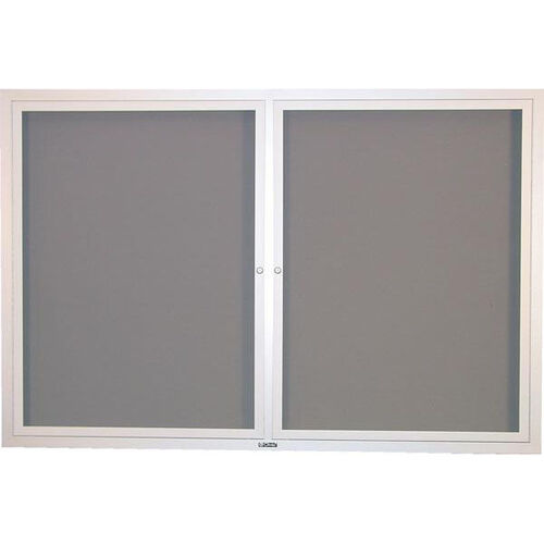 Our Contemporary Bulletin Board Hinged 2 Door Cabinet - 42
