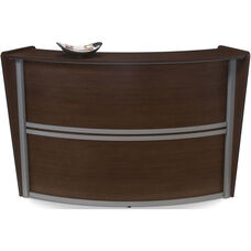 Marque Single-Unit Reception Station - Walnut