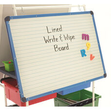 Magnetic Lined Dry Erase Board - 23.75
