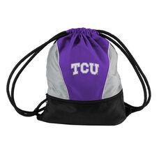 Texas Christian University Team Logo Spring Drawstring Backsack