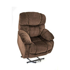 Space Saving Wall-A-Way Reclining Power Lift Chair with Backlit Hand Control - Cabo Havana Fabric