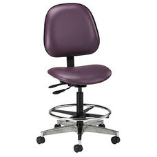 Adjustable Lab Stool - Contour Seat and Back