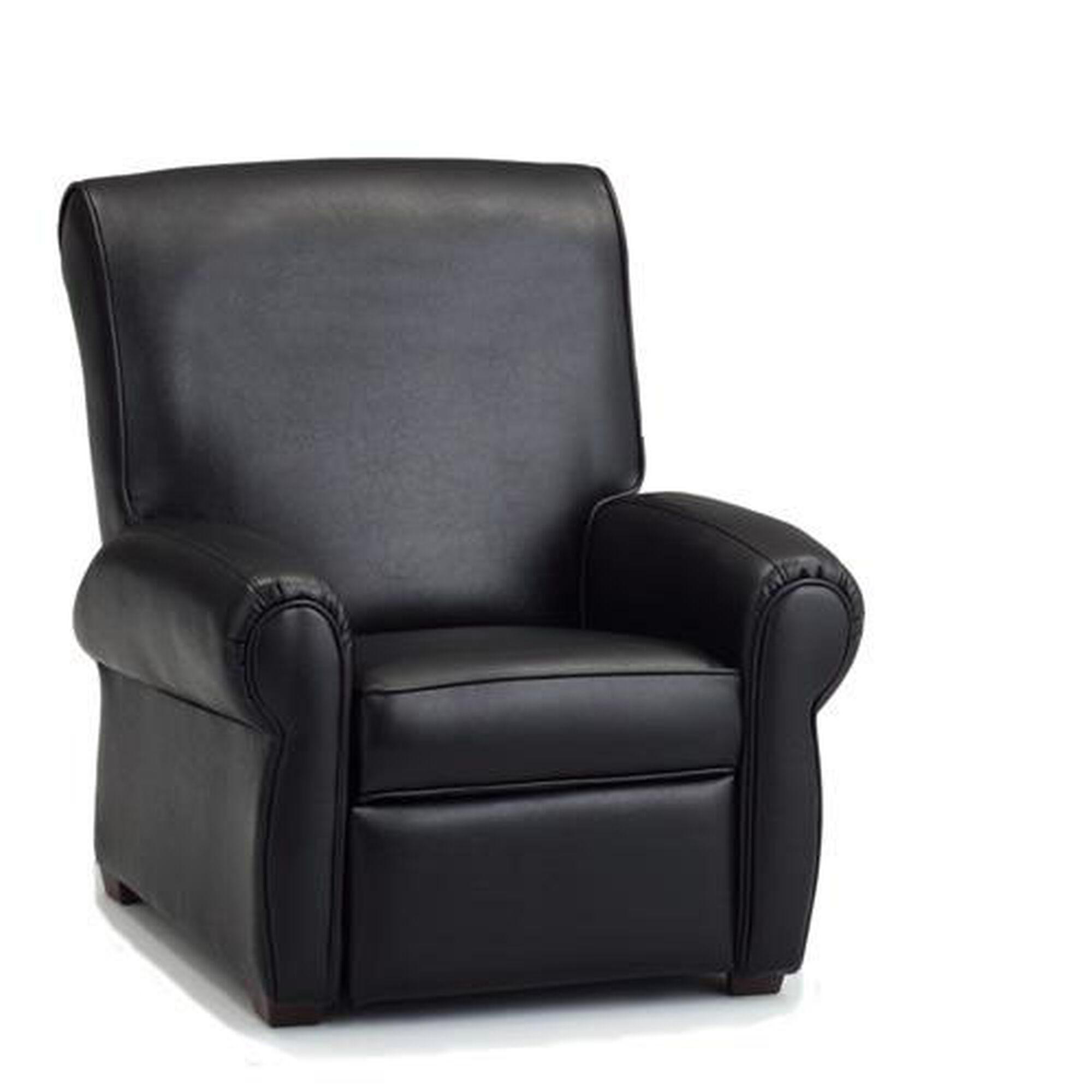 Sensational Big Kids Faux Leather Recliner Black Andrewgaddart Wooden Chair Designs For Living Room Andrewgaddartcom