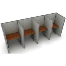Rize 1 x 4 Privacy Workstation 37