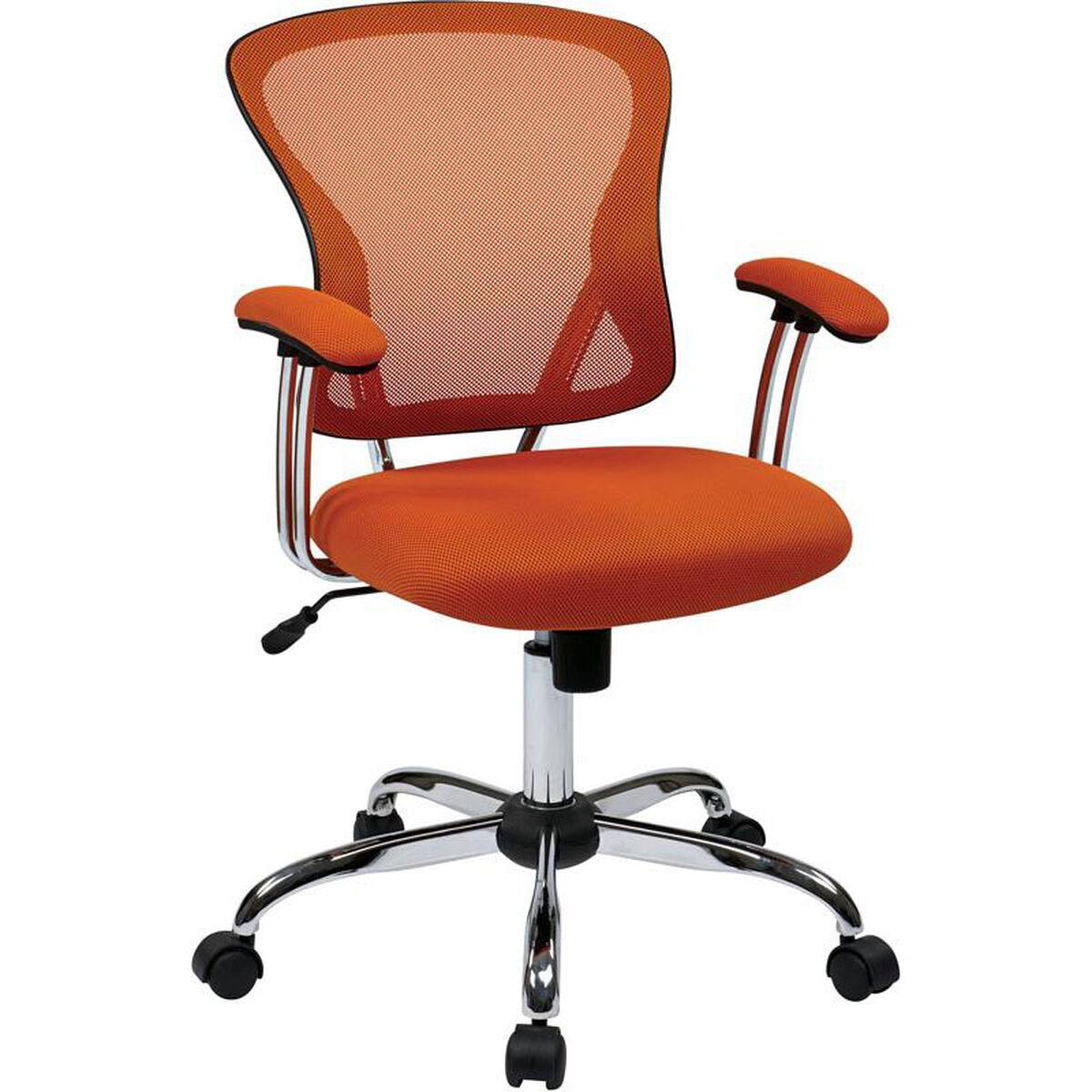 Ave Six Juliana Orange Task Chair Jul26 18 Bizchair Com