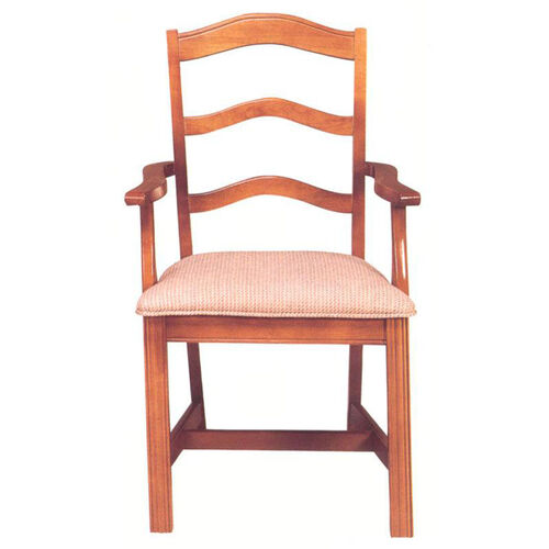 8819 Arm Chair w/ Chippendale Legs & Upholstered Seat - Grade 1
