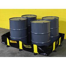 Rigid-Lock QuickBerm® with 175 Gallon Capacity - Black