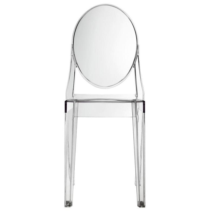 ... Our Casper Side Chair In Clear Is On Sale Now.