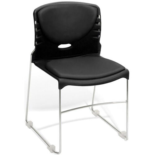 Our 300 lb. Capacity Stack Chair with Anti-Microbial and Anti-Bacterial Vinyl Seat and Back is on sale now.