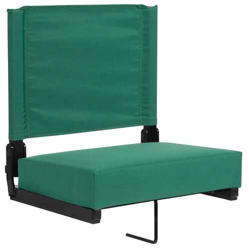 Our Grandstand Comfort Seats by Flash with Ultra-Padded Seat in Hunter Green is on sale now.