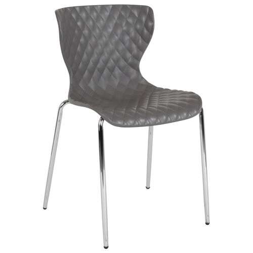 Our Lowell Contemporary Design Plastic Stack Chair is on sale now.