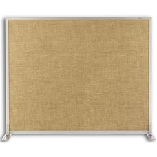 Vinyl and Cork Tackable Space Divider - 72