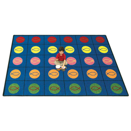Our Circles & Symbols Rug is on sale now.