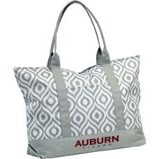 Auburn University Team Logo Ikat Tote