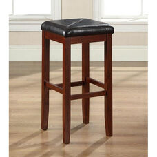 Upholstered Square Seat Bar Stools 29