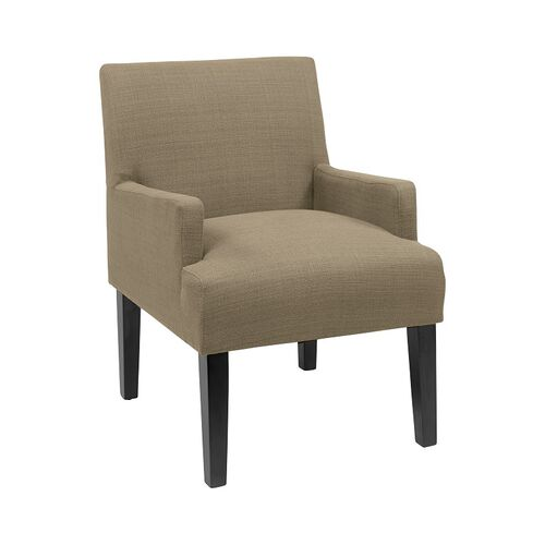 Our Work Smart Main Street Guest Chair with Espresso Finish Legs - Seaweed is on sale now.