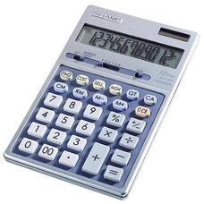 Sharp 12 Digit Calculator -Dual Power -4 Key Memory -4 1/3