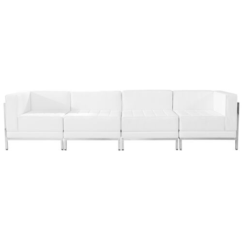 Our HERCULES Imagination Series Melrose White Leather 4 Piece Lounge Set is on sale now.