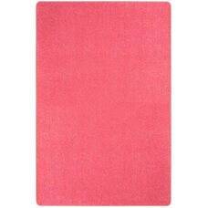 Kid Essentials Just Kidding Polyester Rug with Actionbac Backing - Hot Pink - 144