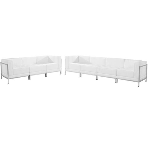Our HERCULES Imagination Series Melrose White Leather Sofa Set, 5 Pieces is on sale now.