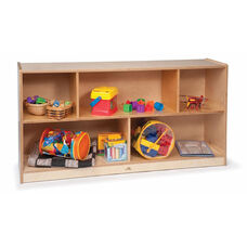 Toddlers Single Storage Cabinet in Birch Plywood - 48