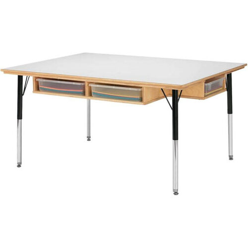Our Adjustable Table with Storage 24