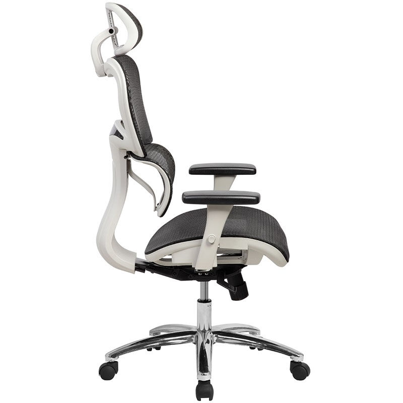 Beau ... Our Techni Mobili Deluxe High Back Mesh Office Executive Chair With Neck  Support   Black Is ...