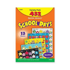 Trend Enterprises School Days Stickers - Acid -free - Nonto x ic - 432 Stickers