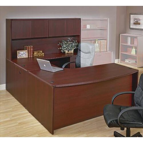 Our OSP Furniture Napa Scratch Resistant U-Shaped Desk with Hutch is on sale now.