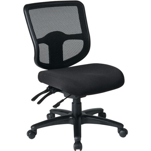 Our Pro-Line II ProGrid® Ergonomic Task Chair with ProGrid Mesh Back and Dual Function Control - Black is on sale now.