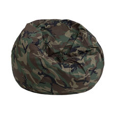Small Camouflage Bean Bag Chair for Kids and Teens