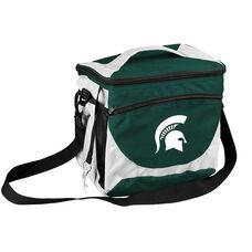 Michigan State University Team Logo 24 Can Cooler