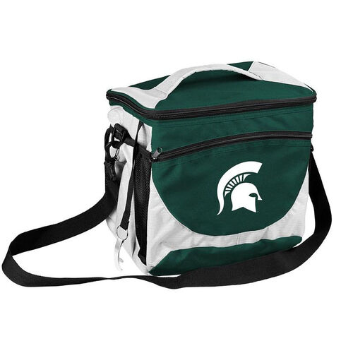 Our Michigan State University Team Logo 24 Can Cooler is on sale now.