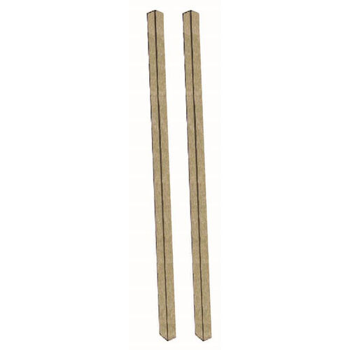 Our Weathered Wood Plastic Lumber Post Set is on sale now.