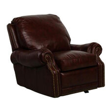 Premier All Leather Power Recliner - Stetson Coffee