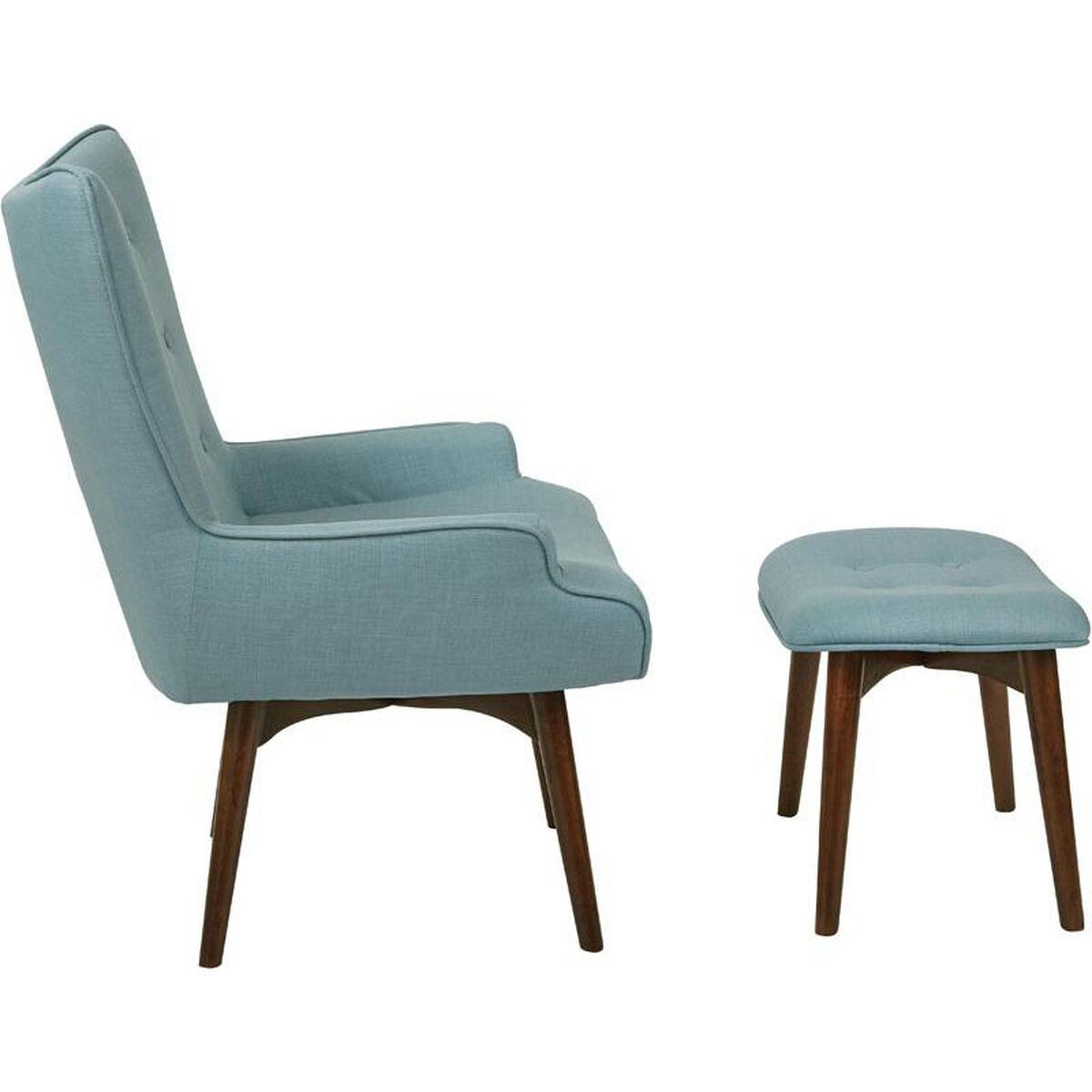 Ave Six Dalton Chair With Ottoman Sb524 M43 Bizchair Com