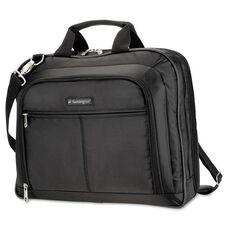Kensington® Simply Portable 40 Classic Laptop Case - 15-3/4 x 3-1/2 x 12-1/2 - Black