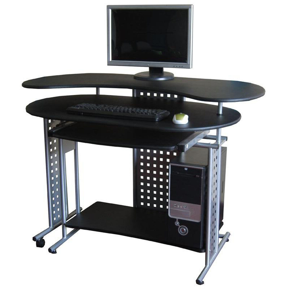 Our Regallo Expandable L Computer Desk Black Is On Now