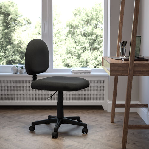 Mid-Back Fabric Swivel Task Office Chair