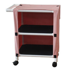 Mini Cart - Two Shelves with Mesh Cover and Casters- 20