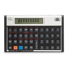 Hewlett-Packard 12C Platinum Financial Calculator