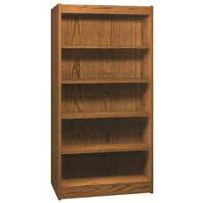 5-Shelf Double Sided Bookcase Starter