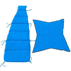 Replacement Pad and Canopy Set for Cloud-9 Lounger - Royal Blue