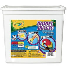 Crayola Model Magic Clay - Four 8 oz. Pouches - 2 lb. - Assorted