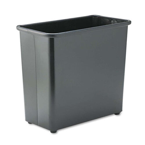 Our Safco® Rectangular Wastebasket - Steel - 27.5qt - Black is on sale now.