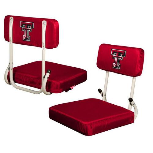 Our Texas Tech University Team Logo Hard Back Stadium Seat is on sale now.