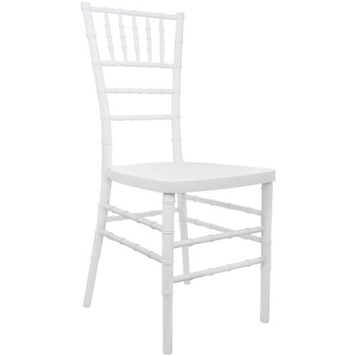 Advantage White Resin Chiavari Chair