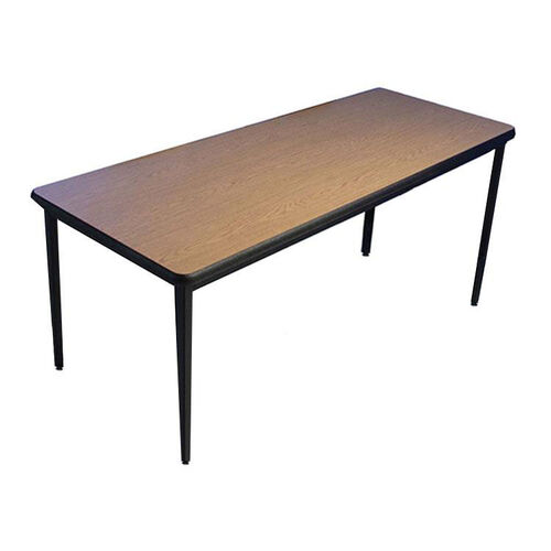Fixed Height Classroom Table with Phenolic Water Resistant Back