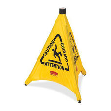 Rubbermaid Commercial Products Multi-Lingual Caution Safety Cones - 21