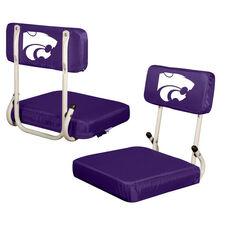 Kansas State University Team Logo Hard Back Stadium Seat
